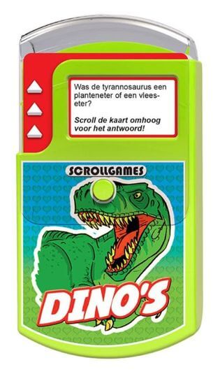 Scroll Games Dino's