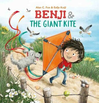 Benji & the giant kite