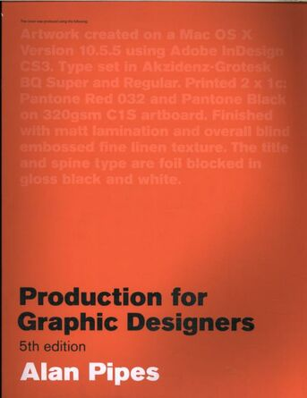 Production for Graphic Designers, Fifth edition