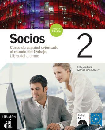 Socios 2 Libro del alumno + MP3