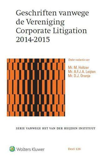 Geschriften vanwege de Vereniging Corporate Litigation