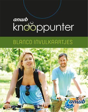 ANWB Knooppunter (blanco invulkaartjes) set 4 exemplaren