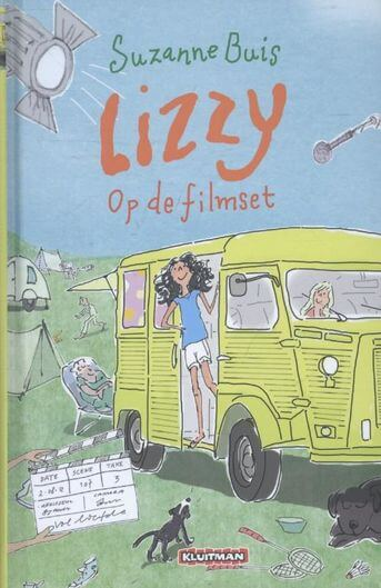 Lizzy op de filmset