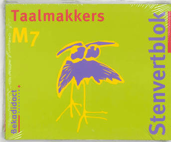 Stenvertblok Taalmakkers set 5 ex M7 Leerlingenboek