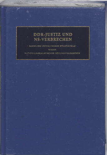 DDR-Justiz un NS-Verbrechen