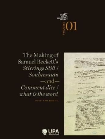 The making of Samuel Beckett's stirrings still / soubresauts and comment dire/what is the word