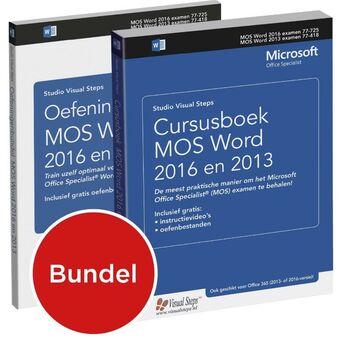 Cursusboek MOS Word 2016 en 2013 / Oefeningenbundel MOS Word 2016 en 2013