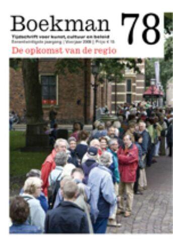 Boekman 78, De opkomst van de regio