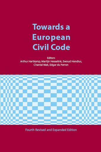 Towards a European Civl Code