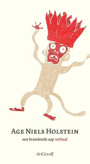 Een brandende aap