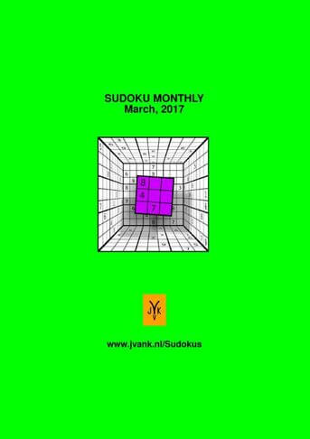 SUDOKU MONTHLY - MARCH