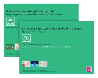Entree/LVS toetsen oefenboeken set