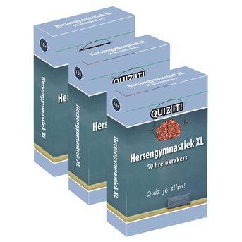 QUIZ IT - Hersengymnastiek XL, 3ex. - QT313