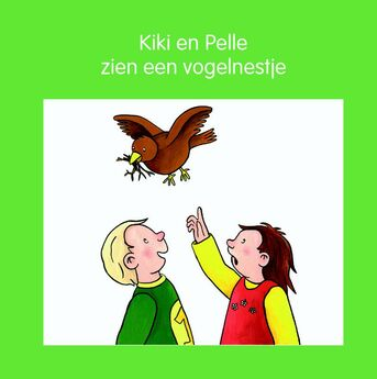 Kiki en Pelle zien een vogelnestje