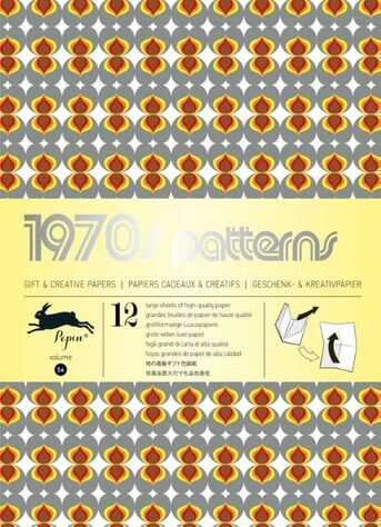 1970S PATTERNS - VOL 54 GIFT & CREATIVE PAPERS