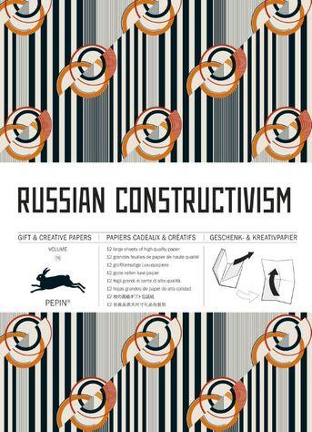 RUSSIAN CONSTRUCTIVISM - VOL 76 GIFT & CREATIVE PAPER BOOK
