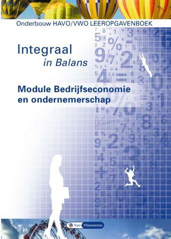 Integraal in balans onderbouw havo/vwo Bedrijfseconomie en ondernemerschap Leeropgavenboek