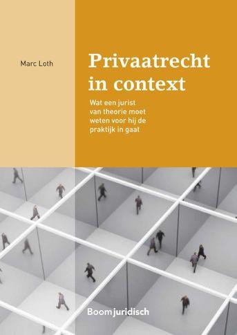 Privaatrecht in context