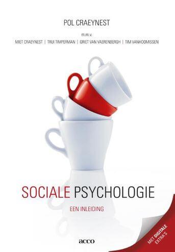 Sociale psychologie 4de druk, 2016