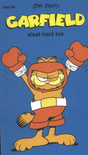 Garfield slaat hard toe