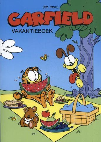 Garfield vakantieboek