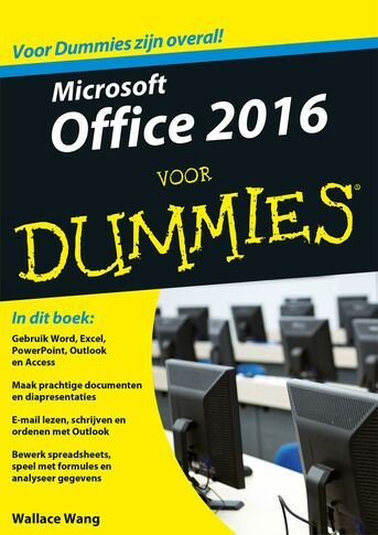 Microsoft Office 2016 voor Dummies (e-book)