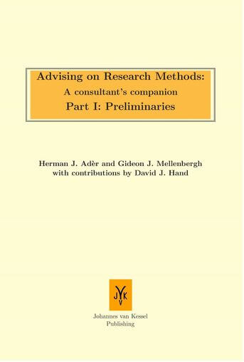 Advising on research methods: A consultant's companion / part I: Preliminaries (e-book)