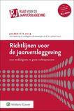 Richtlijnen voor de jaarverslaggeving, middelgrote en grote rechtspersonen 2019