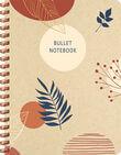 Botanical Kraft spiraalboek groot (bullet)