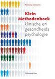 Klein methodenboek klinische en gezondheidspsychologie
