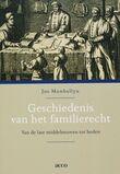 Geschiedenis van het familierecht (e-book)