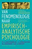 Van fenomenologie naar empirisch-analytische psychologie (e-book)