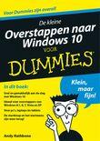 De kleine overstappen naar Windows 10 voor Dummies (e-book)