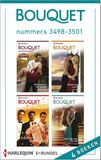 Bouquet e-bundel nummers 3498-3501 (4-in-1) (e-book)