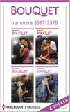 Bouquet e-bundel nummers 3587-3590 (4-in-1) (e-book)