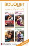Bouquet e-bundel nummers 3667-3670 (4-in-1) (e-book)