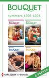 Bouquet e-bundel nummers 4001 - 4004 (e-book)