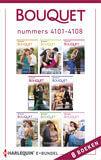 Bouquet e-bundel nummers 4101 - 4108 (e-book)