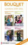 Bouquet e-bundel nummers 4101 - 4104 (e-book)