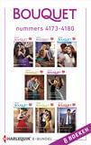 Bouquet e-bundel nummers 4173 - 4180 (e-book)