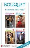 Bouquet e-bundel nummers 4177 - 4180 (e-book)