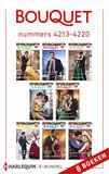 Bouquet e-bundel nummers 4213 - 4220 (e-book)