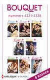 Bouquet e-bundel nummers 4221 - 4228 (e-book)