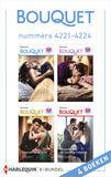 Bouquet e-bundel nummers 4221 - 4224 (e-book)