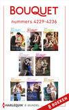 Bouquet e-bundel nummers 4229 - 4236 (e-book)