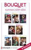 Bouquet e-bundel nummers 4237 - 4244 (e-book)