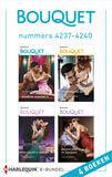 Bouquet e-bundel nummers 4237 - 4240 (e-book)