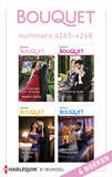 Bouquet e-bundel nummers 4245 - 4248 (e-book)