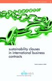 Sustainability clauses in international business contracts (e-book)