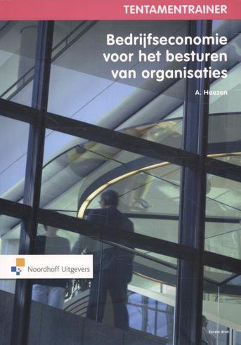 Tentamentrainer bedrijfseconomie voor besturen van organisaties